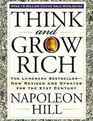 (PDF.EPUB) Think and Grow Rich by Napoleon Hill 1 min delivery  EB00K !
