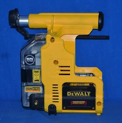 """DeWALT DWH303DH Dust Extractor for 1"""" SDS-Plus Hammers for DCH273"""