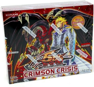 Yugioh Crimson Crisis Booster Box Blowout Cards