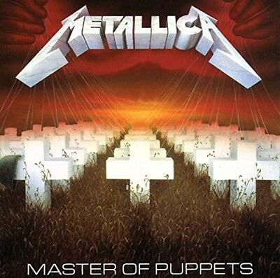 METALLICA Master Of Puppets CD NEW 2017
