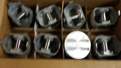 327 CHEVY FORGED Pistons 2044P L2165F Standard Bore Trw Non Coated Skirts