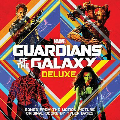 GUARDIANS OF THE GALAXY Marvel Soundtrack CD NEW DELUXE Edition