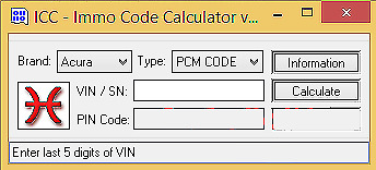 ICC Immo Code Calculator (download)