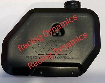 1.5L Black Fuel Tank Racing Dynamics RAD Goped Go ped Scooter Gas GSR Sport