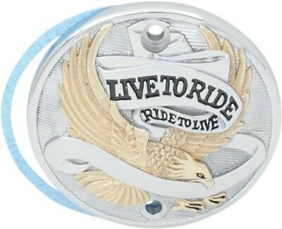 Drag Specialties Live to Ride Points Cover Gold 0940-0844 30-0152EA 0940-0844