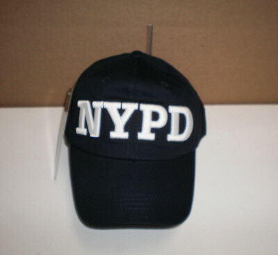New NYPD New York City Police Department Embroidered Adjustable Cap Hat OSFA