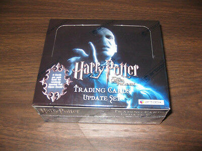 Harry Potter Phoenix Update Retail Trading Card Box RARE HARD TO FIND