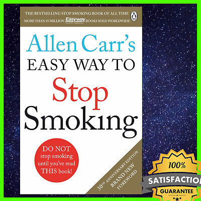 🔥Allen Carr's Easy Way to Stop Smoking: Be a Happy No... by Carr, Allen EB00K🔥