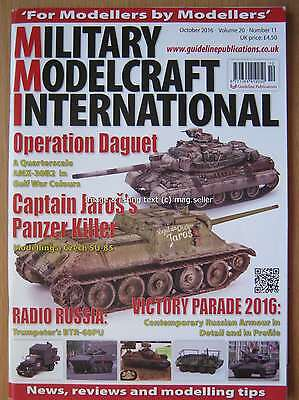Military Modelcraft International October 2016 AMX-30B2 Czech SU-85
