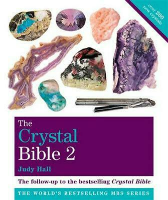 The Crystal Bible 2: Godsfield Bibles by Judy Hall Paperback Book Free Shipping!