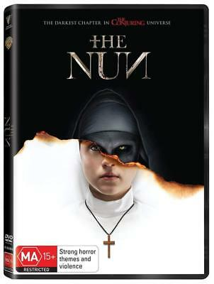 THE NUN (2018): Horror, Mystery, Thriller, The Conjuring - NEW Au Rg4 DVD