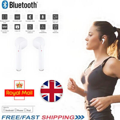 Twin Wireless Bluetooth Earphones For Smart Phones & Bluetooth Enabled devices