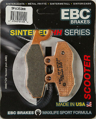 EBC SFA Sintered Brake Pads #SFA353HH Vespa/Aprilia front or rear 61-0636