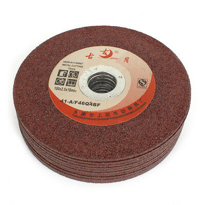 10pcs 100mm Resin Cutting Cut Off Grinding Wheel For Disc Grinder Rotary Tools