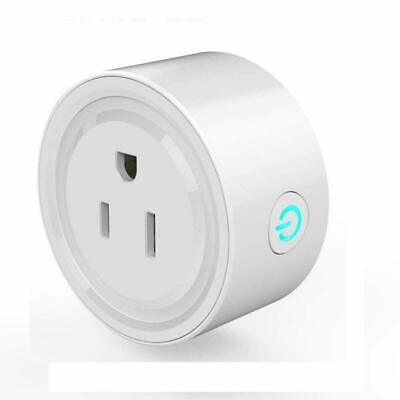 Smart Wifi Plug Electrical Outlet 2in1 Energy Monitoring with APP Remote Control