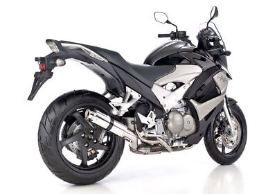 Hurric Supersport Auspuff Honda Crossrunner (2011 Alu mit EG-ABE