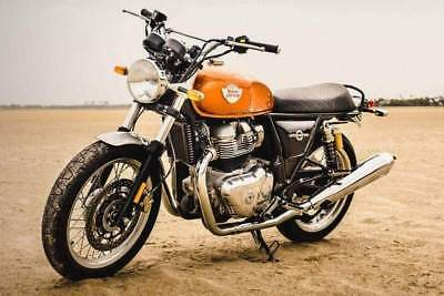 Royal enfield interceptor 650 standard arancione - 2019