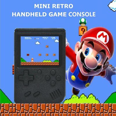 Portable Handheld Video Game Console 8 Bit Built In 300 Game Kids Player 128M