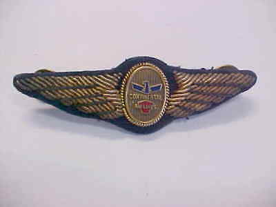 """Vintage """" Continental Airlines Pilot's ** Bullion ** Wings"""