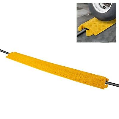 Pyle Reliable Cable Protector Cover Ramp Cord/Wire Safety Concealment Track