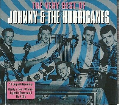 The Very Best Of Johnny & The Hurricanes - 2 Cd Box Set - Red River Rock & More