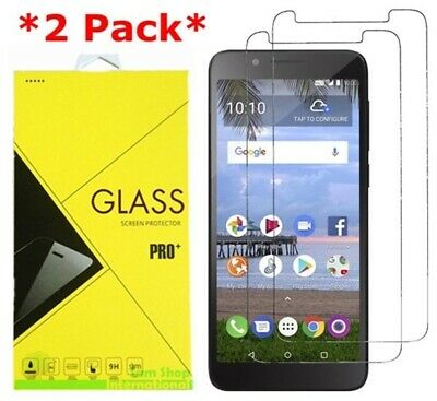 2X Tempered Glass Screen Protector For Alcatel 1X Evolve/IdealXTRA/TCL LX A502DL