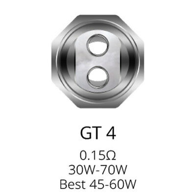 Vaporesso NRG GT4 0.15ohm Replacement Coils (Pack of 3)