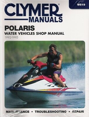 1992-1995 POLARIS SL650 Std SL750 SLT750 Repair Service Worksshop Manual  W819