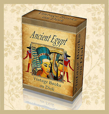 Rare Egyptian Hieroglyphics Books on DVD  Ancient Egypt Art Symbols Pyramids 292