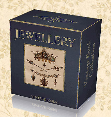 200 Antique Jewellery Books on DVD Necklace Brooch Ring Jewellers Art Guides 29