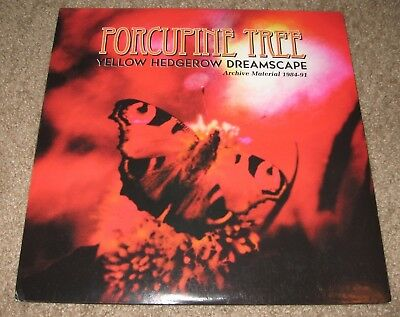 Porcupine Tree Yellow Hedgerow Dreamscape 2 LP Translucent Orange Limited