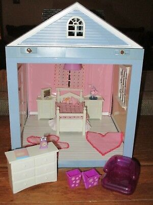JAZWARES ROOM BY Room Dollhouse Teen Girls Bedroom Lights Sound Furniture  Access
