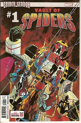 VAULT OF SPIDERS #1 Marvel Comics cover A first printing Spider-Geddon  New
