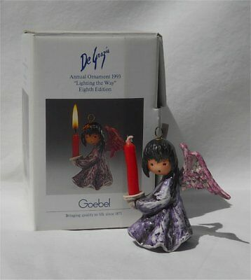 Goebel Degrazia 1993 Annual Ornament Candle Lighting the Way Mint In Box