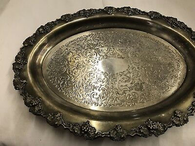 Silver Plated Dish / Tray By William Rogers