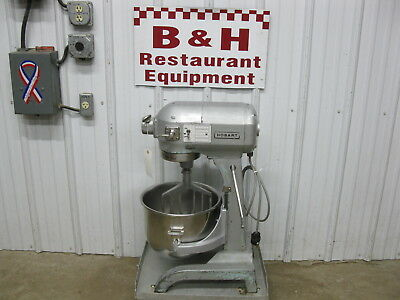 Hobart A-200 Kitchen Bakery Dough Mixer w/ 20 Qt Stainless Steel Bowl, Paddle