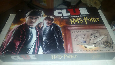Clue:Harry Potter Edition NEW SEALED