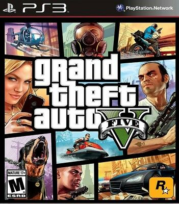 Grand Theft Auto 5 | GTA V | PS3 | No CD