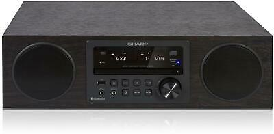 Sharp XL-BB20D(BR) Brown 100W All-In-One Micro Hi-Fi System with DAB+ FM Radio