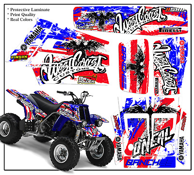 Yamaha Banshee Full Graphics Kit Decals  Stickers