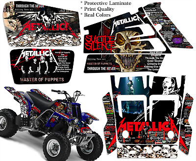 Yamaha Banshee 350 Full Graphics Kit Decals  Stickers