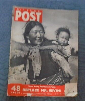 PICTURE POST 23 February 1951 -  Vol 50 no. 8 Replace Mr Bevan
