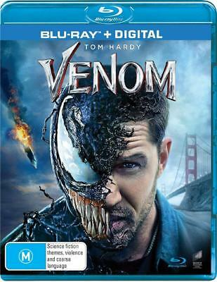 VENOM (2018): Marvel, Action,  Tom Hardy, Michelle Williams -  Au RgB BLU-RAY
