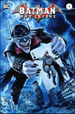 BATMAN WHO LAUGHS #1 Mike Mayhew Variant with Trade Dress