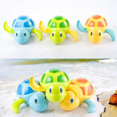 Cute Swimming Turtle Pool Animal Floating Tortoise Toys For Baby Kids Bath Time