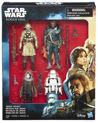 Star Wars Rogue One Jedha Revolt 4-Pack 3.75 Inch