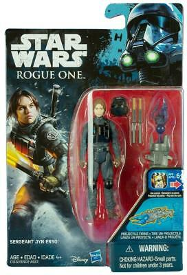 Star Wars Rogue One Jyn Erso Imperial Ground Crew Disguise 3.75 Inch