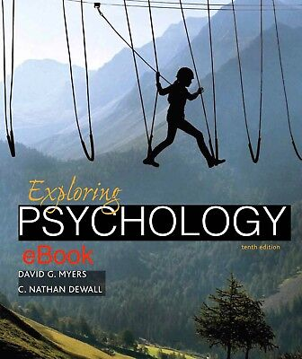 Exploring Psychology by David G. Myers and C. Nathan DeWall 10th Edition *eBook