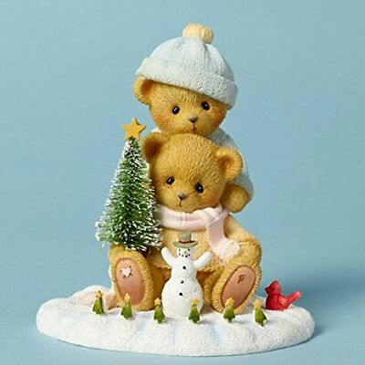 Cherished Teddies Liz and Marcos Snow Days Are the Best Bear Christmas 4040470