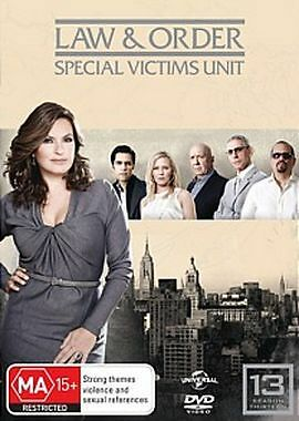 Law And Order SVU - Special Victims Unit : Season 13 DVD : AS NEW
